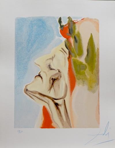 萨尔瓦多·达利 - 版画 - Divine Comedy Heaven Canto 7