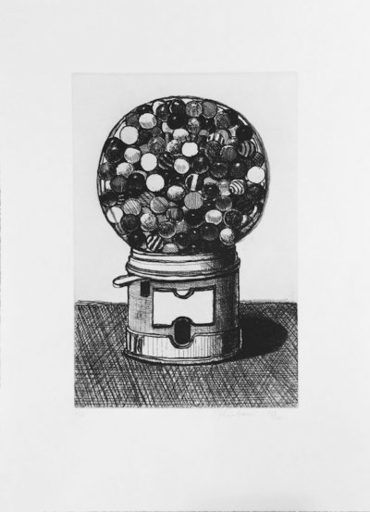 Morton Wayne THIEBAUD - Print-Multiple - Dark Gumball Machine