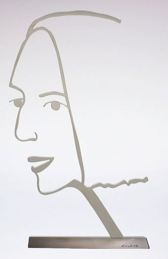 Alex KATZ - Escultura - Ada 2 (Outline)