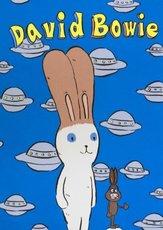 Atsushi KAGA - Grabado - David Bowie with UFOs
