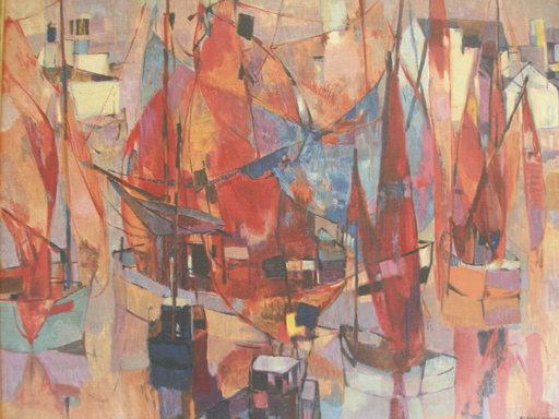 Claude SCHURR - 绘画 - Riviera