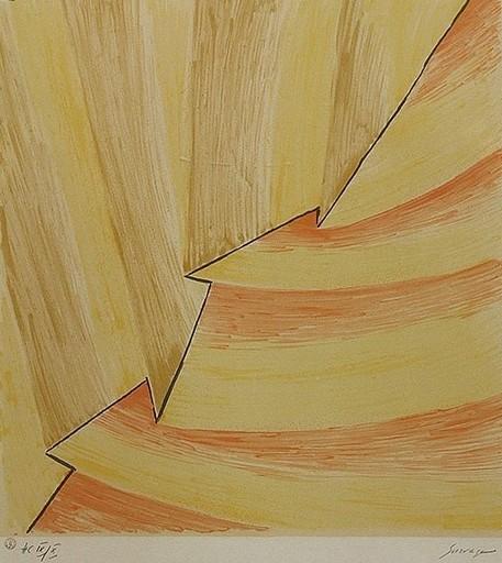 Léopold SURVAGE - Estampe-Multiple - Rythm in colours