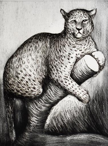 Henry MOORE - Print-Multiple - Leopard