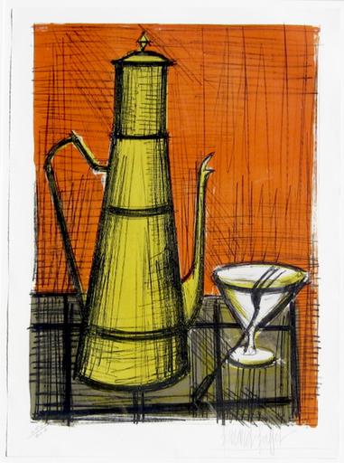 Bernard BUFFET - Print-Multiple - La Cafetiere