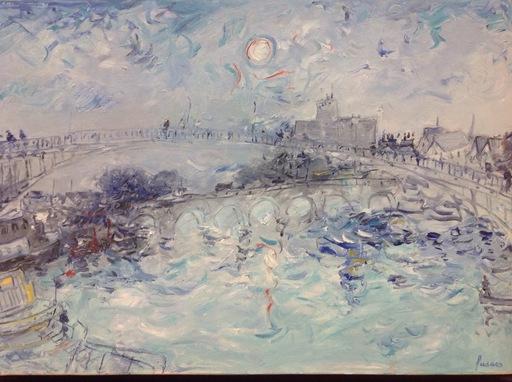 Jean FUSARO - 绘画 - L'Yonne ensoleillée