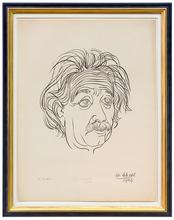 Josef SCHARL - Print-Multiple - Albert Einstein