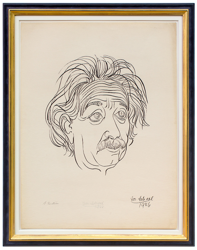 Josef SCHARL - Print-Multiple - Albert Einstein