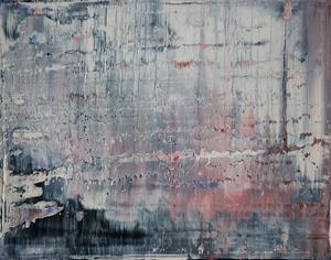 Harry James MOODY - Pittura - abstract grey zone No.432