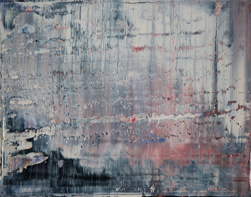 Harry James MOODY - Peinture - abstract grey zone No.432