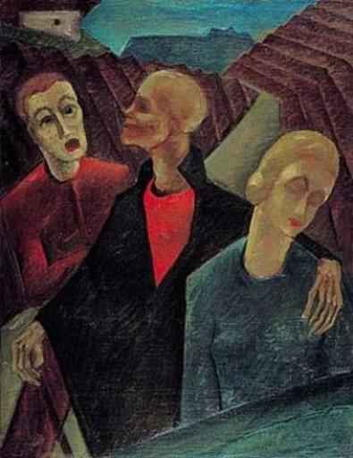 Herbert GURSCHNER - Pintura - Triumph des Todes