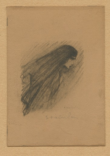 Théophile Alexandre STEINLEN - Print-Multiple - LITHOGRAPHIE SUR CUIR SIGNÉE AU CRAYON HANDSIGNED LITHOGRAPH