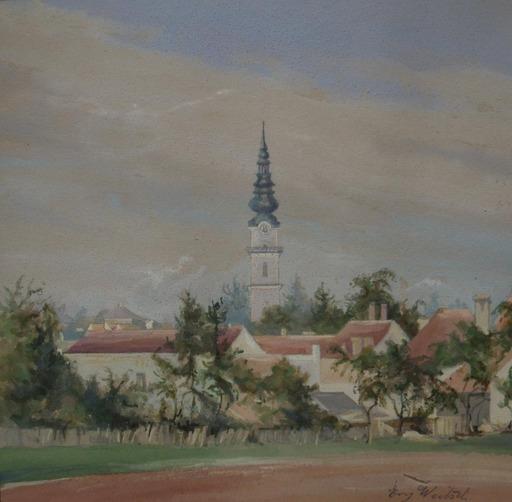 Emmy WOITSCH - Drawing-Watercolor - Ried im Innkreis