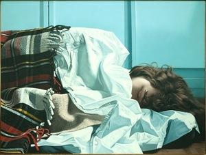 Gérard SCHLOSSER - Painting - C'est pour toi, c'est Hélène, 1976