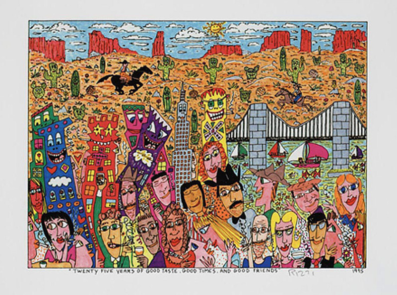 James RIZZI - Estampe-Multiple - Twenty Five Years of Good Taste, Good Times, and Good Friend