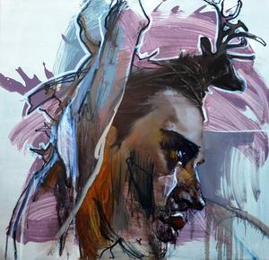 """Evgeniya MALTSEVA - Pintura - """"Brutality # 5"""""""