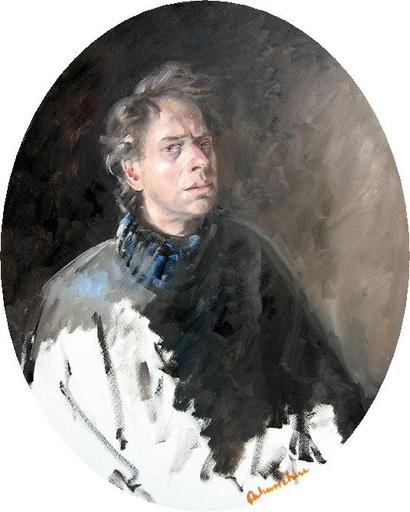 Christoff DEBUSSCHERE - Pintura - Autoportrait