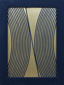 Elio MARCHEGIANI - Escultura - Grammature oro