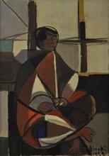 Renato BIROLLI (1905-1959) - Donna bretone