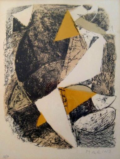 Marino MARINI - Print-Multiple - Untitled   Senza Titolo