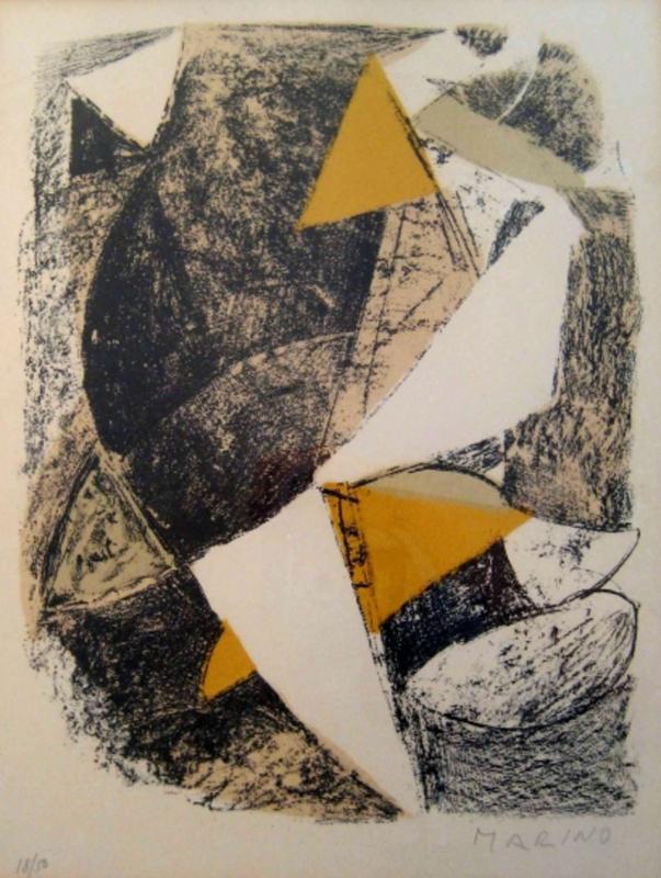 Marino MARINI - Print-Multiple - Untitled | Senza Titolo