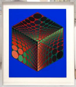 Victor VASARELY - Print-Multiple - Tu Pa 2