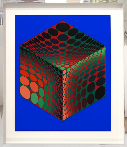 Victor VASARELY - Print-Multiple - Tu Pa 2