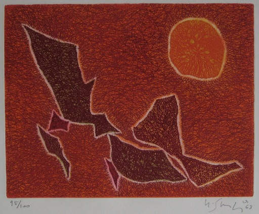Gustave SINGIER - Grabado - GRAVURE 1963 SIGNÉE AU CRAYON NUM/100 HANDSIGNED ETCHING