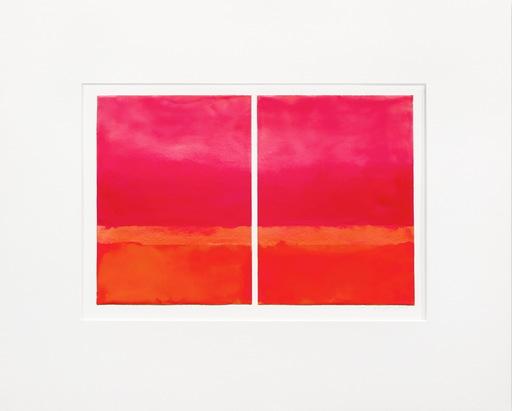 Janise YNTEMA - Pittura - Cadmium Red