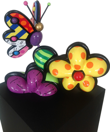 Romero BRITTO - Sculpture-Volume - New Life