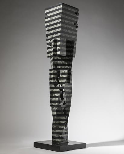 Eun Sun PARK - Sculpture-Volume - Colonna Infinita - Aumento I
