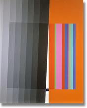 Eugenio CARMI - Painting - Quadrato Ribelle