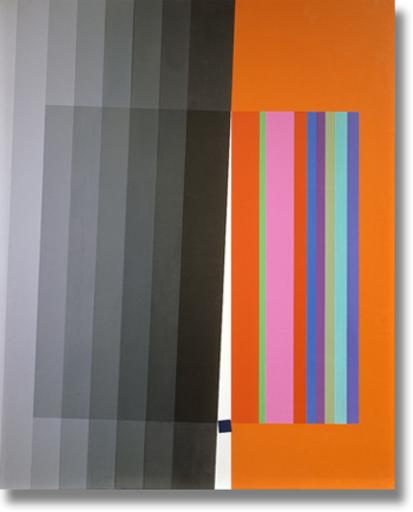 Eugenio CARMI - Peinture - Quadrato Ribelle