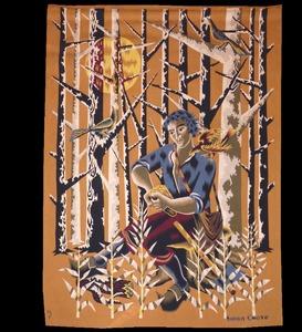 Simon CHAYE (1930) - le bûcheron