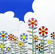 Takashi MURAKAMI (1962) - Flower 2