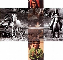 John BALDESSARI - Fotografia - The Intersection Series: Person on Horse and Person Falling