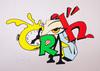 CRASH - Stampa-Multiplo - Clock 2