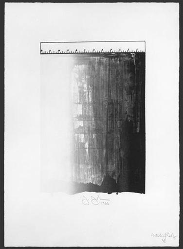 Jasper JOHNS - Print-Multiple - Ruler