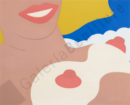 Tom WESSELMANN - Estampe-Multiple -  Nude