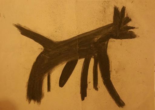 PASTURO - Drawing-Watercolor - Chien