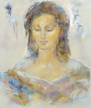 Ludmilla MOSHEK - Painting - Regard