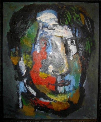 Joseph LEVIN - Pittura - Sans titre