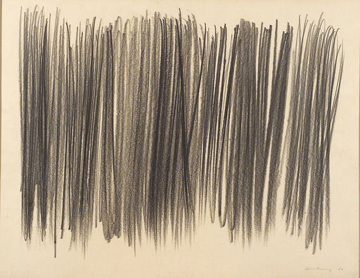 Hans HARTUNG - Drawing-Watercolor
