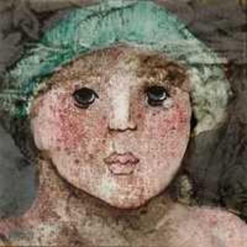 Giovanna MADOI - Painting - Volto