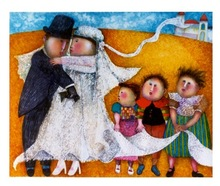 Graciela RODO BOULANGER - Print-Multiple - Les Jeunes Maries