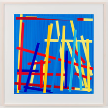 Imi KNOEBEL - Painting - Fishing Blue II E