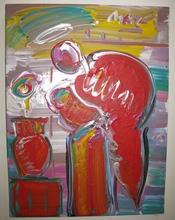 Peter MAX - Pintura - Untitled