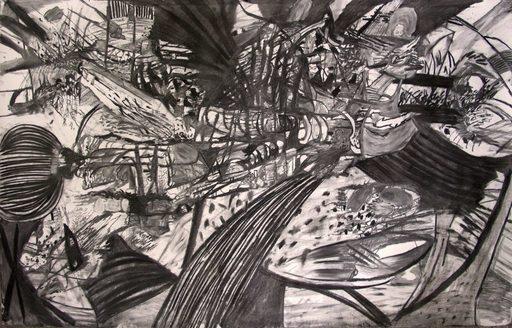Luis ALMEIDA - Drawing-Watercolor - « Sans titre »