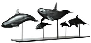 Damien COLCOMBET - Sculpture-Volume - Les orques