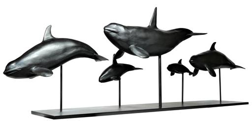 Damien COLCOMBET - Skulptur Volumen - Les orques