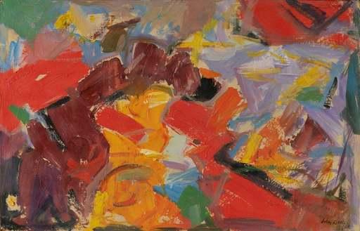 John LITTLE - Gemälde - Untitled